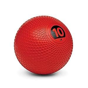 Sklz Unisex's Performance Medicine Ball-Red, 10 lb