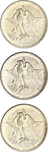 1938 P Silver Commemoratives Texas (Texas Coin Set)