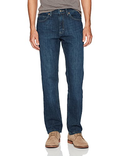 LEE Men's Regular Fit Straight Leg Jean, Lenox, 36W x 34L