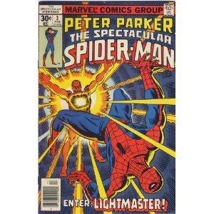 Peter Parker, the Spectacular Spider-man # 3 V. 1 1977 Marvel Comics (Volume 1)