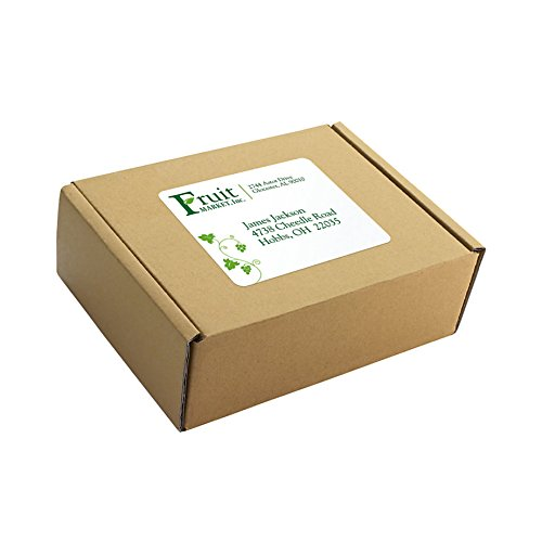 Office Depot Brand 100% Recycled Mailing Labels, Shipping, 3 1/3'' x 4'', White, Box Of 600 by Office Depot (Image #3)