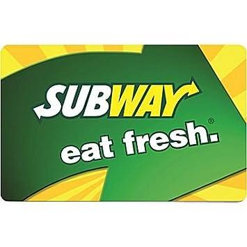 Subway card
