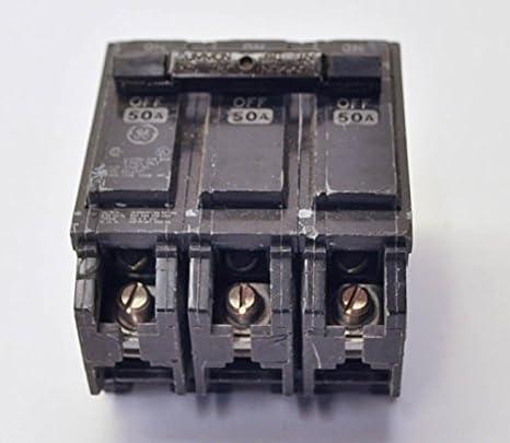 general electric THQL32050 3P Standard Plug In Circuit Breaker 50A 240VAC