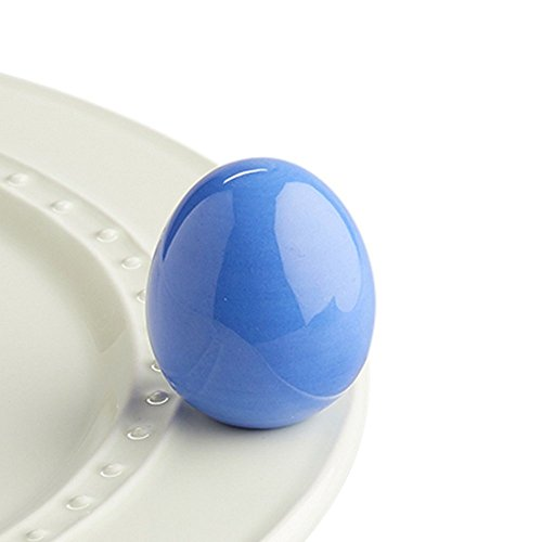 Nora Fleming Hand-Painted Mini Easter Egg-citement Periwinkle Egg A193