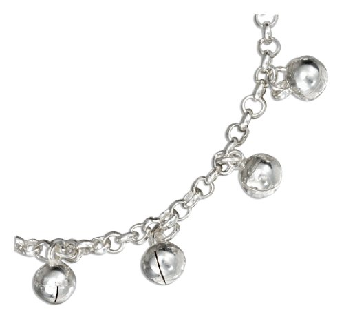 Sterling Silver 7.5 inch Chime Ball Bracelet