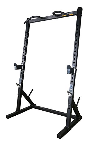 (Powertec Fitness Workbench Half Rack - Black Workbench Half Rack -)