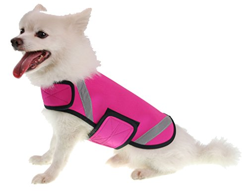 PET LIFE Extreme Neoprene Multi-Purpose Sporty Protective Shell Pet Dog Coat Jacket, X-Small, - Wetsuit Sizing Guide