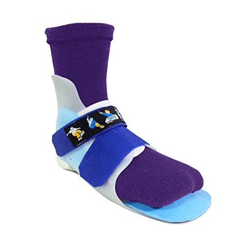 SmartKnit Kids Seamless SMO Interface Socks (Purple, Large)