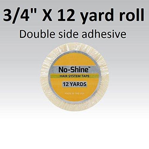 no-shine-bonding-double-sided-tape-walker-3-4-x-12-yards-roll