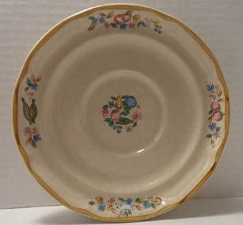 International Tableworks   Heartland Village Stoneware   Saucer By  International Tableworks