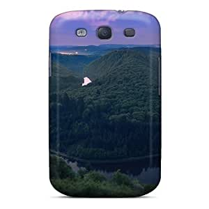 New Snap-on AnnetteL Skin Case Cover Compatible With Galaxy S3- Nature Rivers