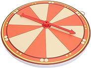 PRETYZOOM 1 Set Spinning Prize Wheel Wall Mounted Random Raffle Game Wheel for Casino Party Market Raffle Trad