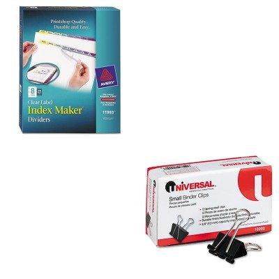 amazon com kitave11993unv10200 value kit avery index maker