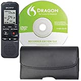 Sony ICD-PX333D 4GB Digital Flash Voice Recorder with Dragon Software and Premium Carrying Case
