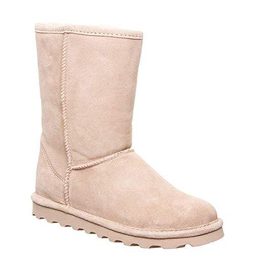 BEARPAW Women's Elle Short Winter Boot (13 M US Little Kid, Blush) (Best Blush For Winter)