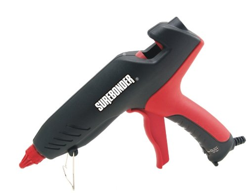 Surebonder PRO2-100 100-Watt High Temperature Industrial Glue Gun, Black