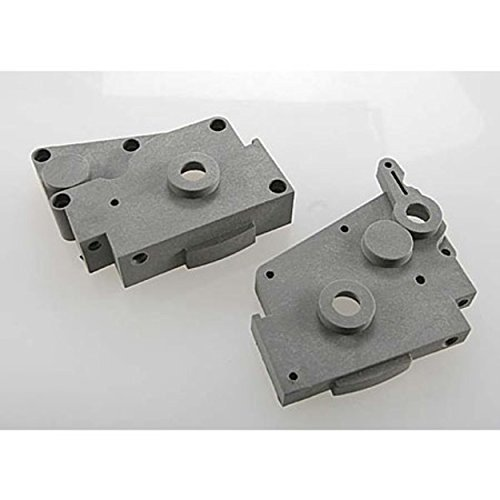 Traxxas 4491A Gearbox Halves Gray Left & Right by Traxxas
