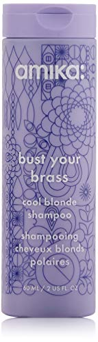 amika Bust Your Brass Cool Blonde Shampoo, 2.03 - Mousse Wild Berry