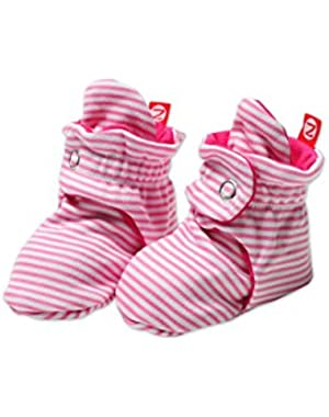 Unisex-Baby Newborn Candy Stripe Booties