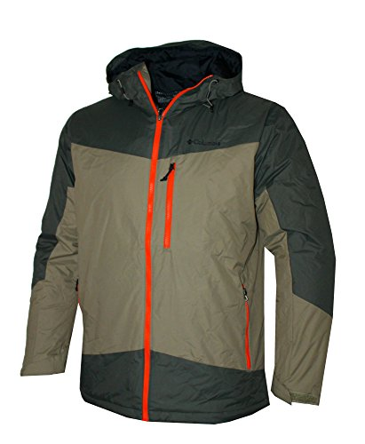 Columbia Men's Wister Slope Insulated Thermal Coil Hooded Jacket (XL) ()