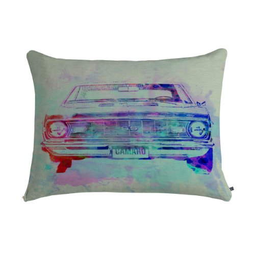 Deny Designs Naxart Chevy Camaro Watercolor 2 Pet Bed, 28 by 18-Inch from Deny Designs