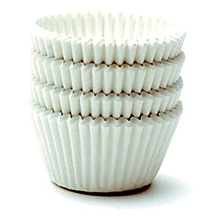 Norpro Giant Muffin Cups, White, Set of 48