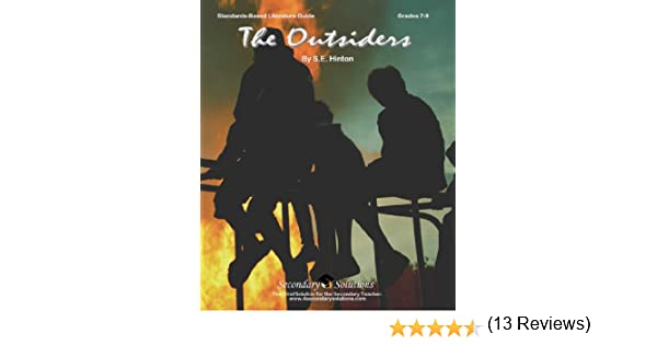 The Outsiders Literature Guide (Common Core and NCTE/IRA Standards ...