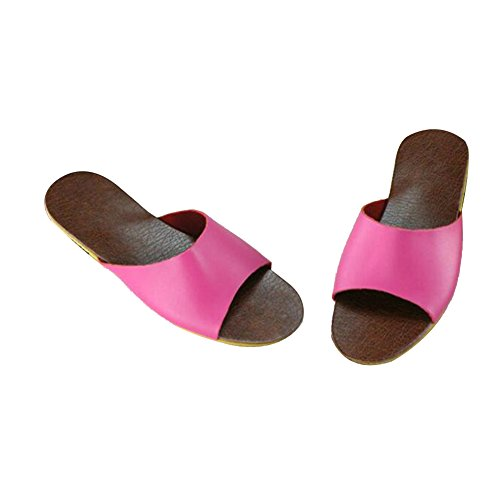 TELLW Femme Rose Chaussons Pour Chaussons TELLW ZqZP0wT