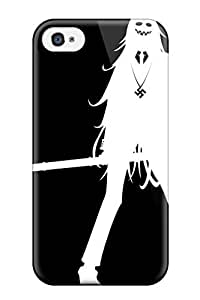 New Shockproof Protection Case Cover For Iphone 4/4s/ Anime Black And White Case Cover