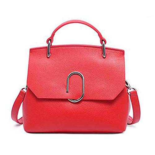 Sacs à De à Sac Sauvage Coquille La Version Messenger Unique Atmosphère Mode Red Main Simple Main Bag épaule Coréenne z1wqXfF