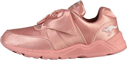 KangaROOS Unisex-Erwachsene K-Bow Sneaker Pink (Dusty Rose)