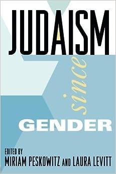 Judaism Since Gender (1996-11-24)