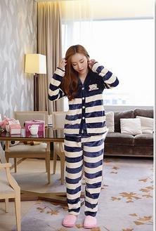 &zhou Parejas ropa de hogar y pijamas gruesos en invierno pijamas ocio Rebeca , male ,