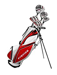 The Precise MDXII premium men's set delivers ultimate distance and performance with a full complement of clubs that are easy to hit. Not only does this set offer outstanding performance, the design aesthetics will make you look great too!