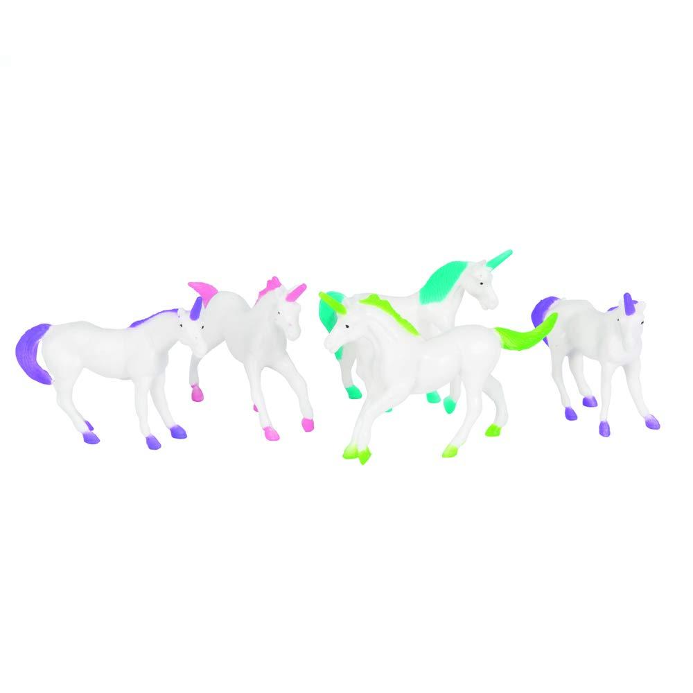 Unique Party Licornes en Plastique, 84754