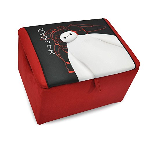 Kidz World Big Hero 6 Upholstered Storage Bench by Kidz World