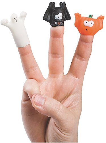 Halloween Finger Puppets - Novelty Toys & Hand