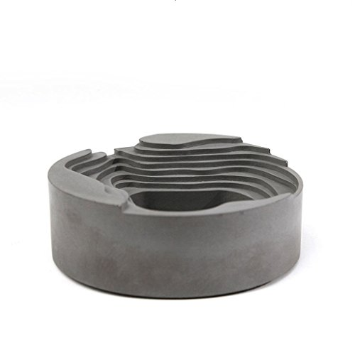 Cheap  MYJ Ashtray Outdoor Large Cement Creative Bar Cafe Decoration Decoration Ashtray for..
