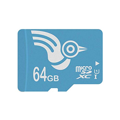 ADROITLARK High Speed 64GB Micro SD Cards Class 10 microSD Memory Cards for Go Pro Tablet Smartphone Camera Dashcam with Adapter(U1 64GB) (Phone Software Desktop Kyocera)