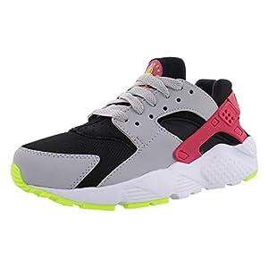 Best Epic Trends 41fALB0b6nL._SS300_ Nike Huarache Run (gs) Big Kids 654275-038 Size 4.5, Black/Rush Pink-wolf Grey-volt
