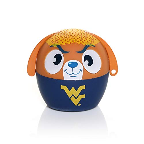 (NCAA Bitty Boomer Wireless Bluetooth Speaker, West Virginia Mountaineers)