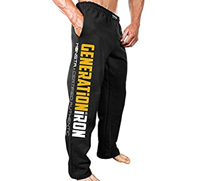 Monsta Clothing Co. Men's Generation Iron (SWPNT) Sweatpants