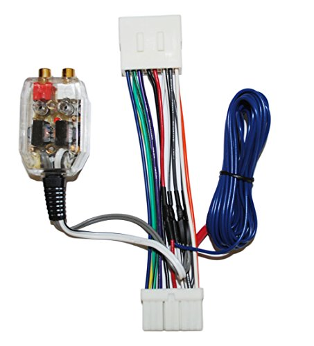Sub Wire Harness (Factory Radio Add A Amp Amplifier Sub Interface Wire Harness Inline Converter)