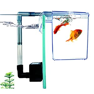 Finnex External Refugium Breeder Hang-On Box, Water Pump 1