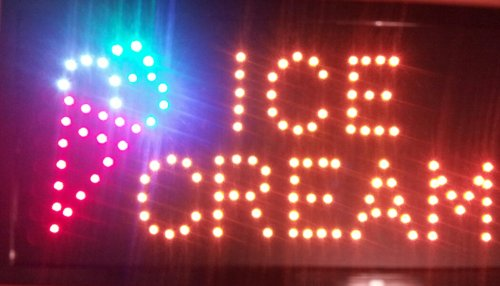 ice cream led sign - 6