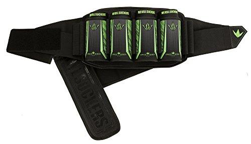 Bunker Kings V5 Supreme Pack Strapless Paintball Harness Pod Pack - 4+7 WKS Lime King Harness