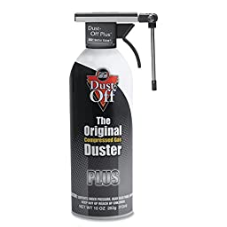 Falcon Dust-Off DPS Plus Cleaning Spray - Ozone-safe, Non-toxic, Non-flammable