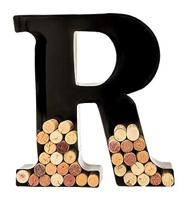 Wine Cork Holder - Metal Monogram Letters