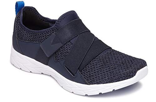 Vionic Women's Brisk Aimmy Walking Shoes - Ladies Athleisure Shoe with Concealed Orthotic Arch Support Navy 8 M US