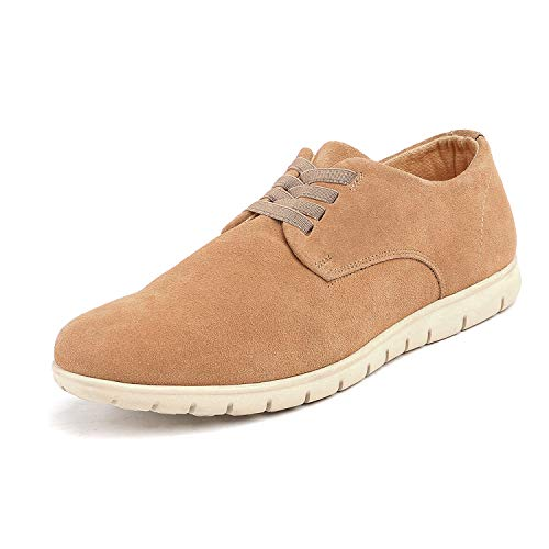 - Bruno Marc Men's Sand Oxford Fashion Sneaker Casual Dress Sneakers - 7 M US